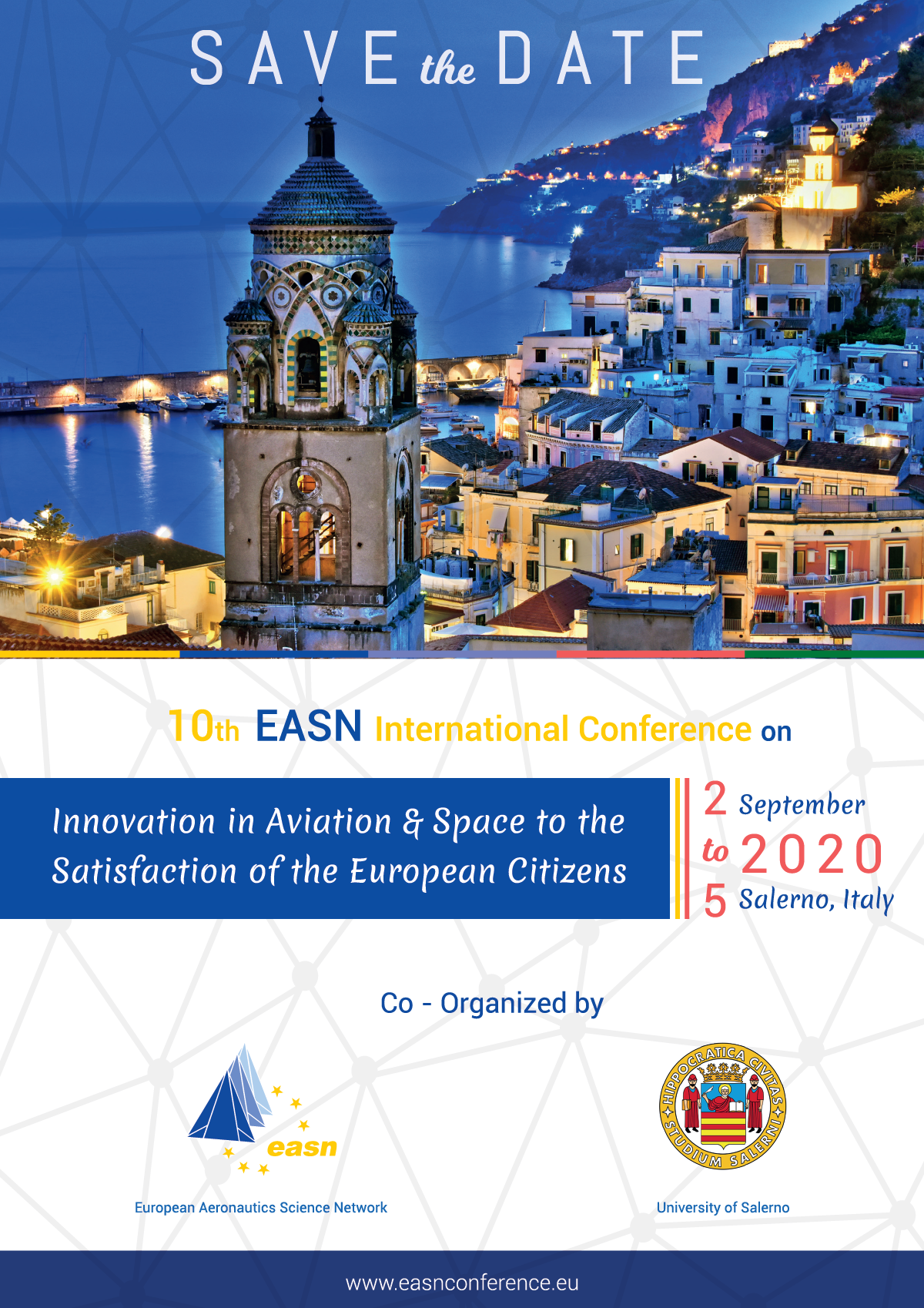 10th EASN Conference - Save the date banner
